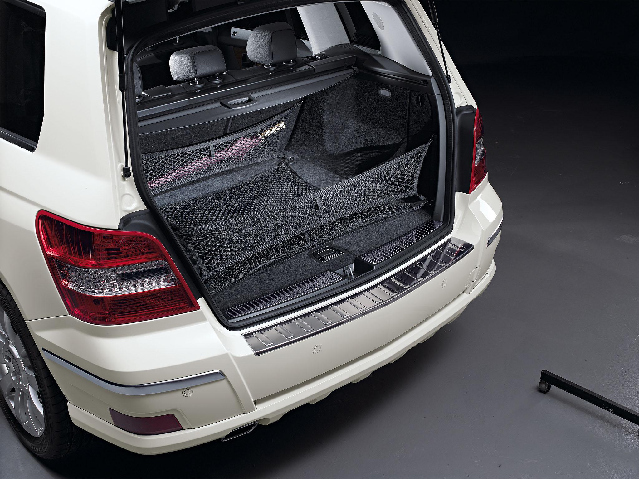 bagagenet achterbank suv glk auto accessoires mercedes benz official online shop. Black Bedroom Furniture Sets. Home Design Ideas