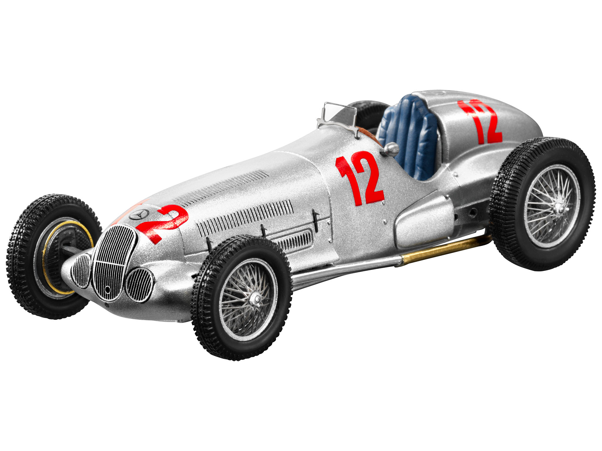 750 kg f1 racewagen w 125 1937 schaalmodellen for Mercedes benz f1 shop