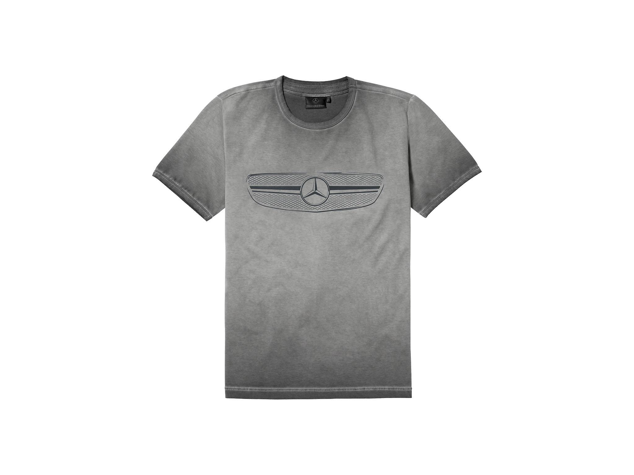 t shirt grey washing heren mercedes benz official. Black Bedroom Furniture Sets. Home Design Ideas