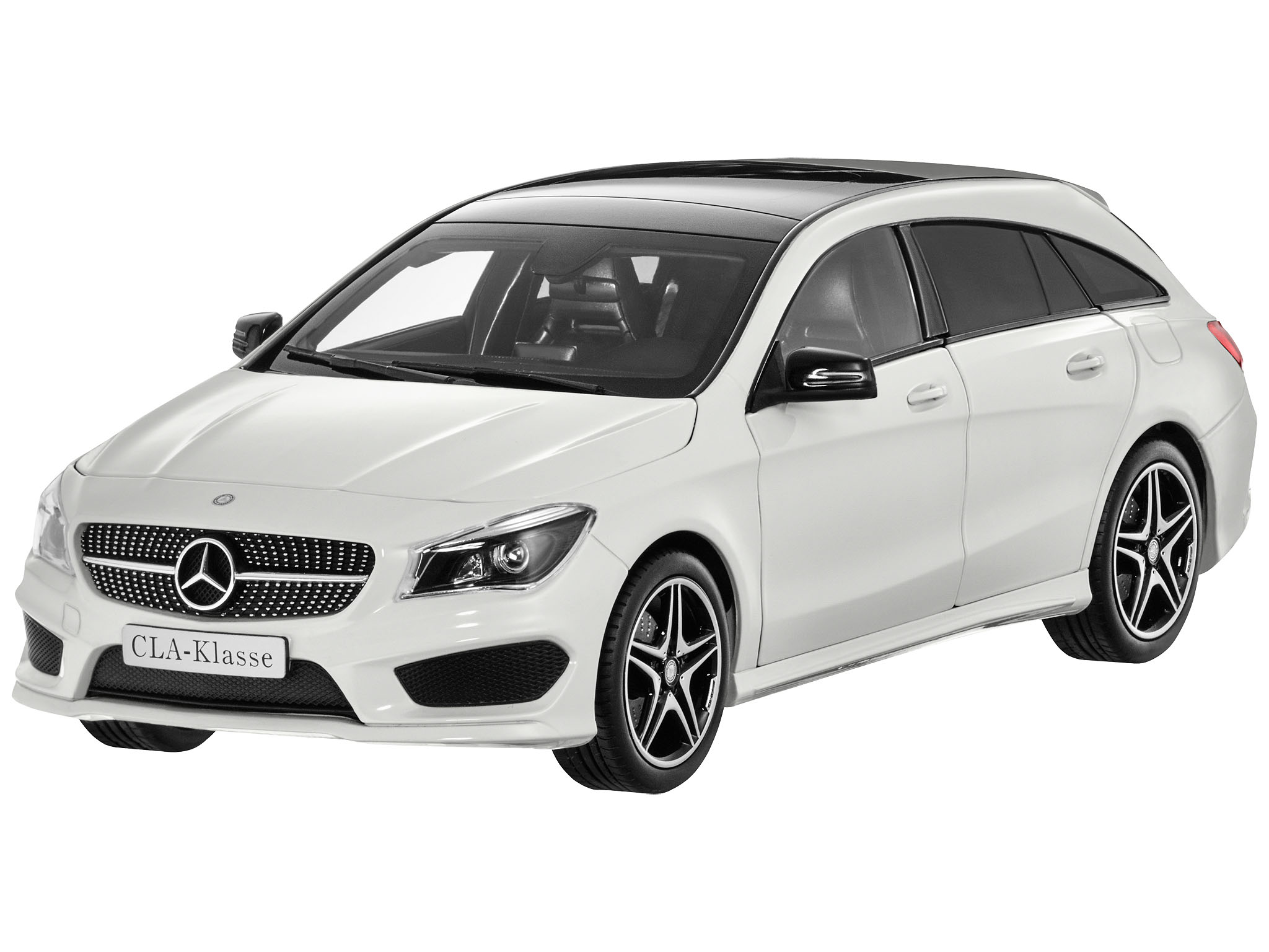 cla shooting brake amg line x117 schaalmodellen. Black Bedroom Furniture Sets. Home Design Ideas