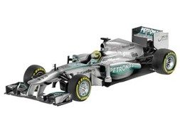 MERCEDES AMG PETRONAS Formula One(TM) Team W04 (2013), Courer Nico Rosberg