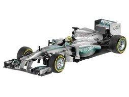 MERCEDES AMG PETRONAS Formula One(TM) Team W04 (2013), Courer Nico Rosberg