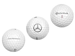Golfballen Tour Preferred X™, set van drie
