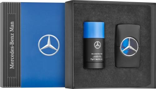 Mercedes-Benz Parfum voor Mannen, Set van twee, 50 ml