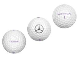 Golfballen Burner Lady, set van drie