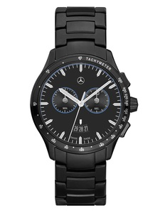 Chronograaf heren, Black Edition