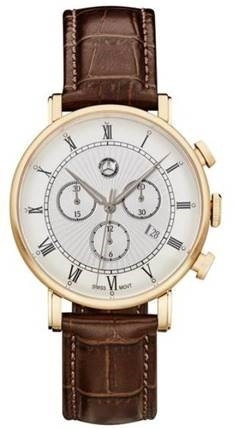 Chronograaf heren, Classic Retro Gold
