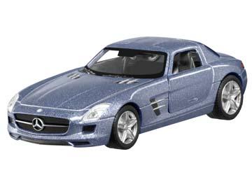 SLS AMG, pullback