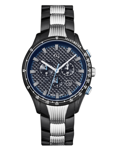 Chronograaf heren, Motorsports Chrono, Black